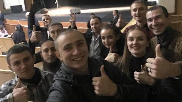Активісти зірвали концерт Райкіна