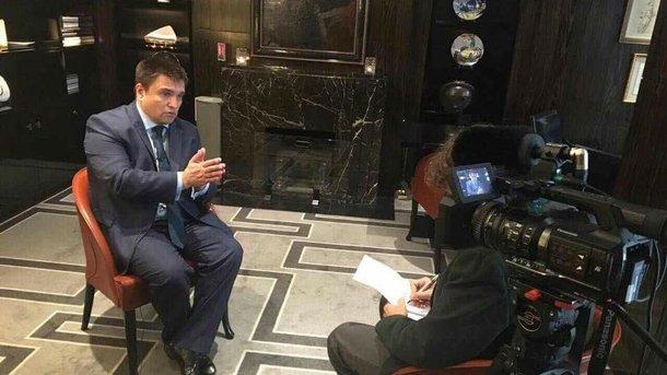 Клімкін розповів подробиці зустрічі з Лавровим