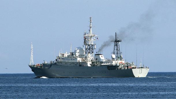6f2a36d48c1dad Контррозвідка військово-морського флоту США засікла присутність російського  корабля-шпигуна