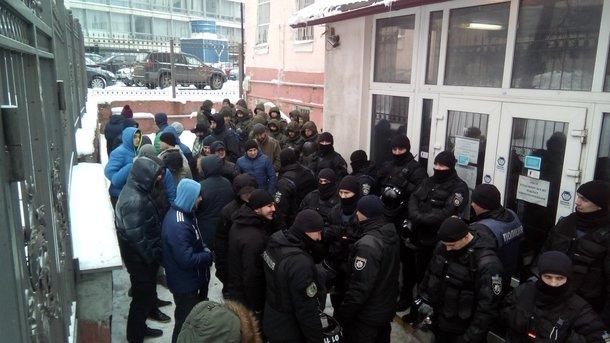 Суд по Труханову і сутички з поліцією: з'явилися фото, відео і нові подробиці
