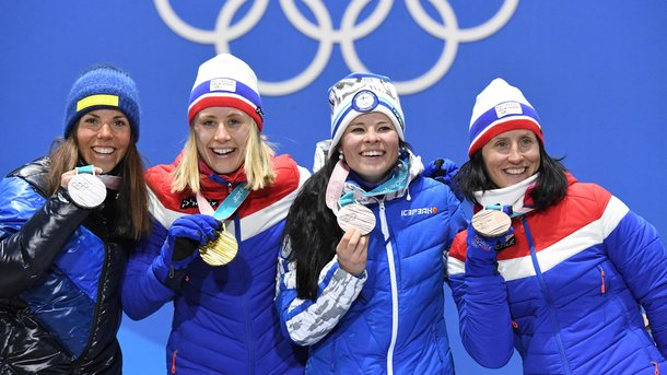 Медальний залік після шостого дня Олімпіади-2018