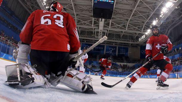 Канада стартувала в олімпійському хокейному турнірі з перемоги над Швейцарією