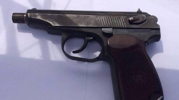 У Запоріжжі затримали росіянина зі зброєю і наркотиками