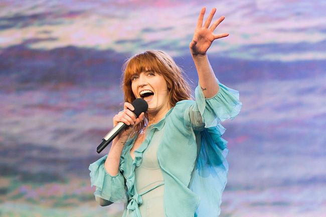 "<p style=""text-align: justify;"">Florence + The Machine. Фото: Getty</p>"