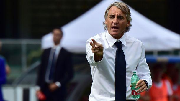 Манчіні призначений головним тренером збірної Італії