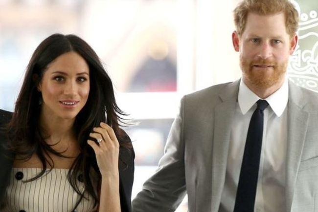 "<p style=""text-align: justify;"">Меган Маркл і принц Гаррі. Фото: AFP</p>"