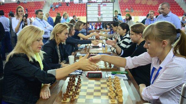 Українки незуміли обіграти росіянок нашаховій Олімпіаді, чоловіки виграли уАзербайджану