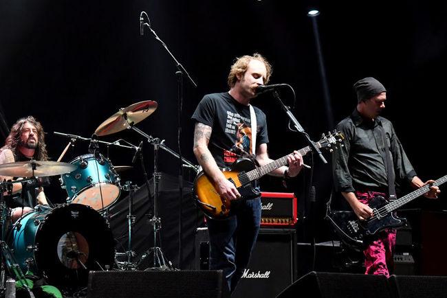 Легендарна Nirvana возз'єдналася для виступу нафестивалі