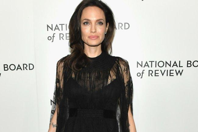 "<p style=""text-align: justify;"">Анджеліна Джолі. Фото: AFP</p>"