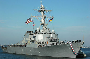 "<p style=""text-align: justify;"">Ross (DDG 71). Фото: United States Navy / Wikimedia</p>"