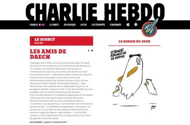 "<p style=""text-align: justify;"">Нова карикатура Charlie Hebdo. Фото: charliehebdo.fr</p>"