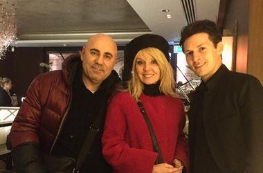 Валерія та Йосип Пригожин несподівано познайомилися з Павлом Дуровим в Лондоні