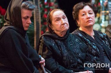 Після смерті Дмитра Гнатюка його дружина перенесла інсульт