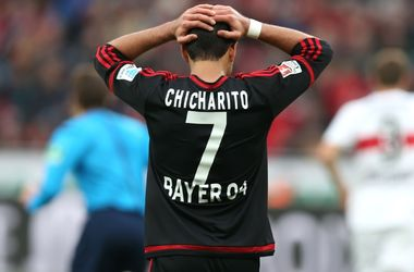 "<p style=""text-align: justify;"">Хав'єр Ернандес. Фото bayer04.de</p>"