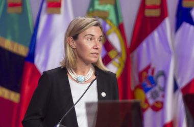 "<p style=""text-align: justify;"">Федеріка Могеріні. Фото: twitter.com/FedericaMog</p>"
