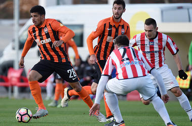 "<p style=""text-align: justify;"">""Шахтар"" - ""Краковія"" - 2:0. Фото shakhtar.com</p>"