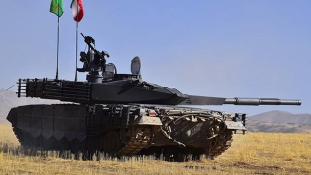 В Ірані запустили серійне виробництво танка нового покоління