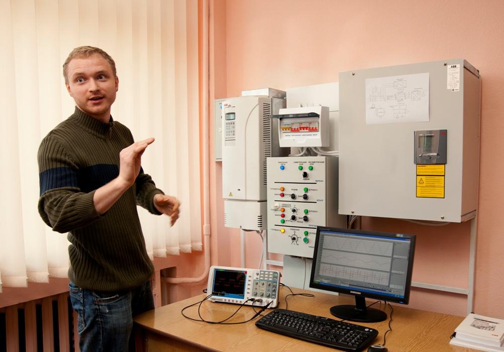 Лабораторія по керуванню силовим активним фільтром кафедра АЕМС-ЕП КПІ