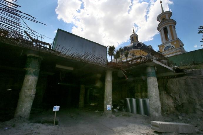архелологічна знахідка- залишки вулиці середньовічного Києва