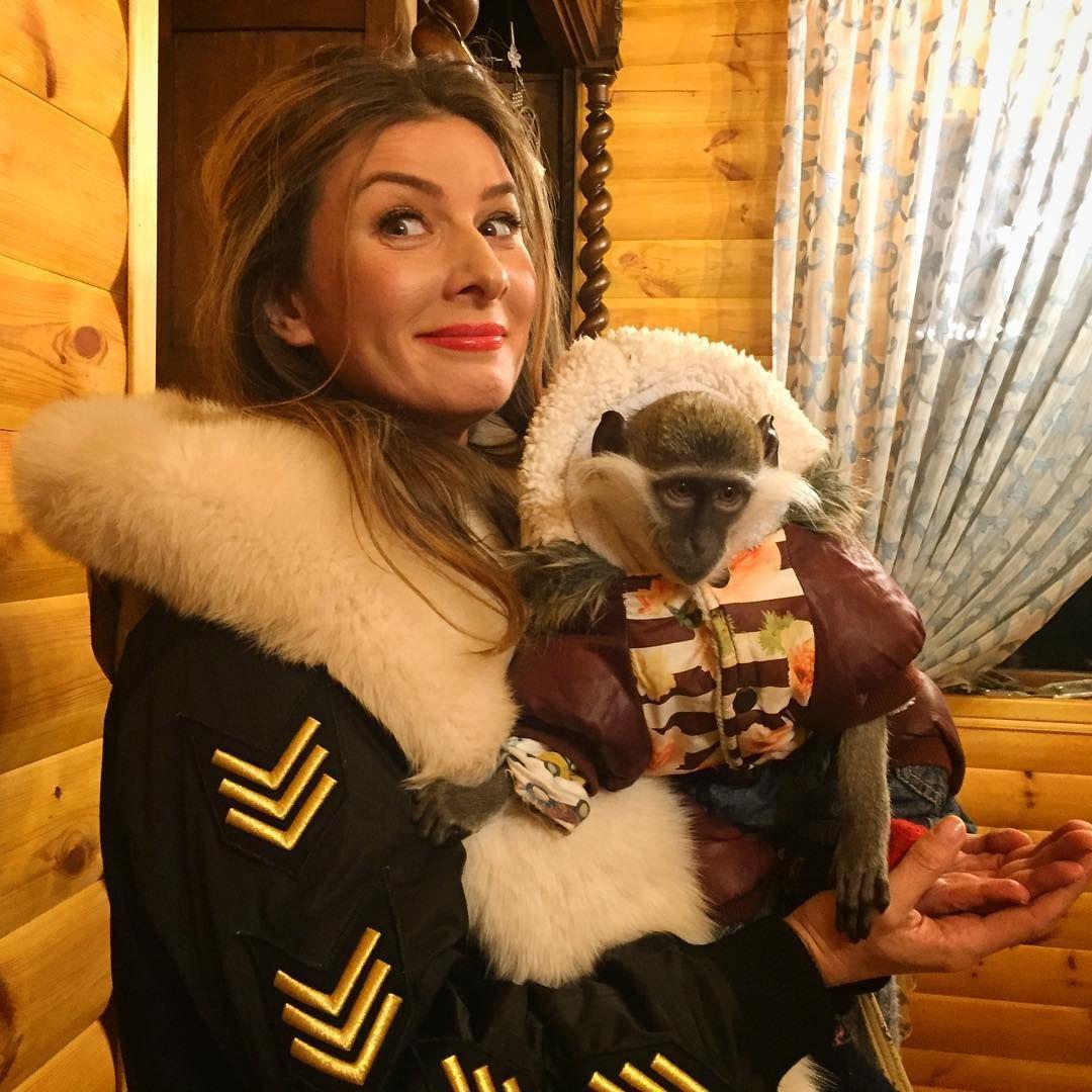 Жанна Бадоєва ледь не збожеволіла через мавпу (фото)