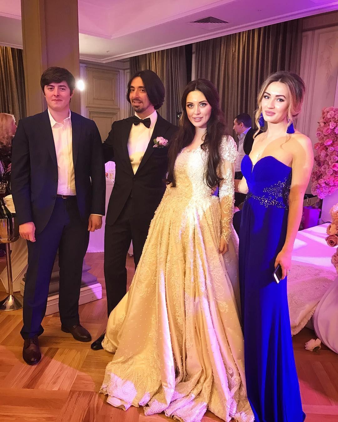 23-річна дочка Олександра Сєрова з Лещенком і Винокуром погуляла на розкішному весілля (фото)