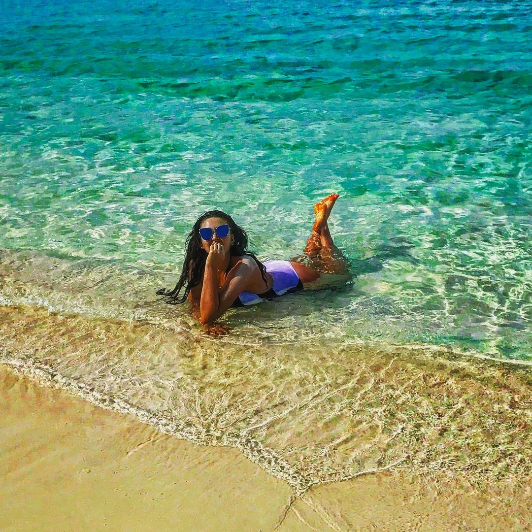 Дубцова фото на пляже
