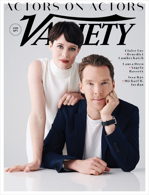 benedict-cumberbatch-claire-foy-variety-actors-on-actors-cover