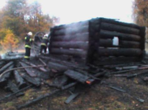 УКиєві трапилася пожежа натериторії музею народної архітектури «Пирогово»