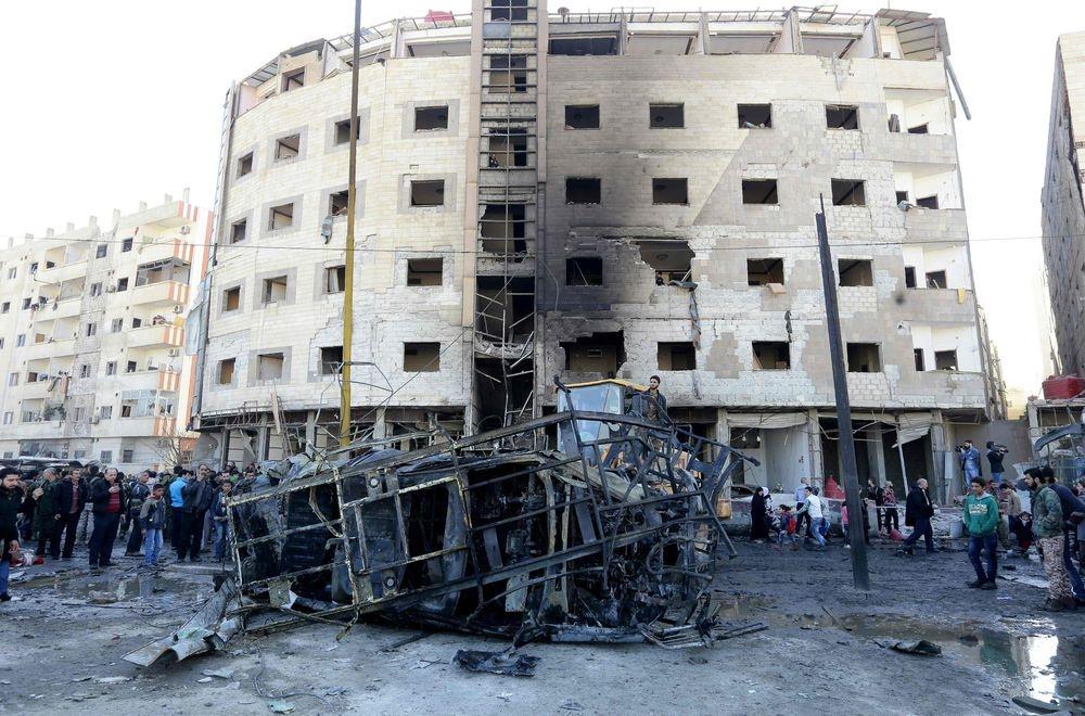 Подвійний теракт уСирії: 30 загиблих