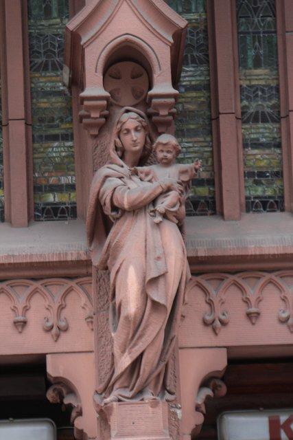 Діва Марія. З немовлям