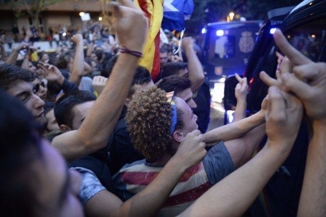 УКаталонії відбулась акція на підтримку референдуму про незалежність