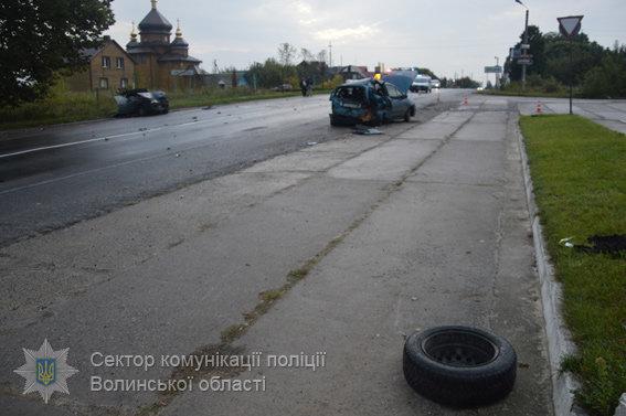 УВолинській області двоє нетверезих водіїв влаштували ДТП, постраждали 8 осіб