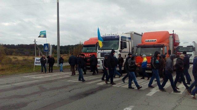 Держприкордонслужба попередила про заблокований рух вантажівок напункті пропуску Ягодин
