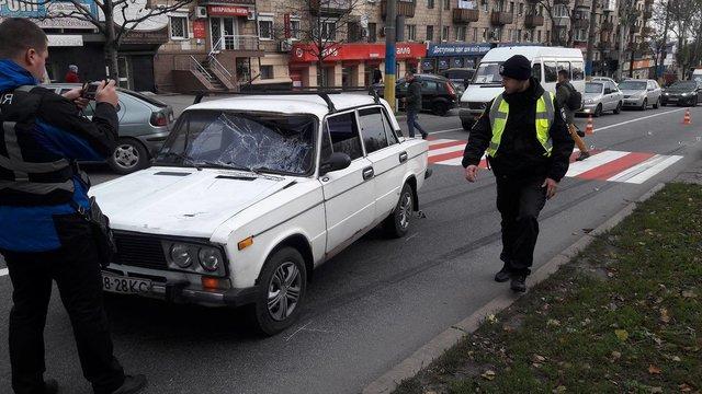 Уцентрі Запоріжжя авто збило двох дітей біля пішохідного переходу