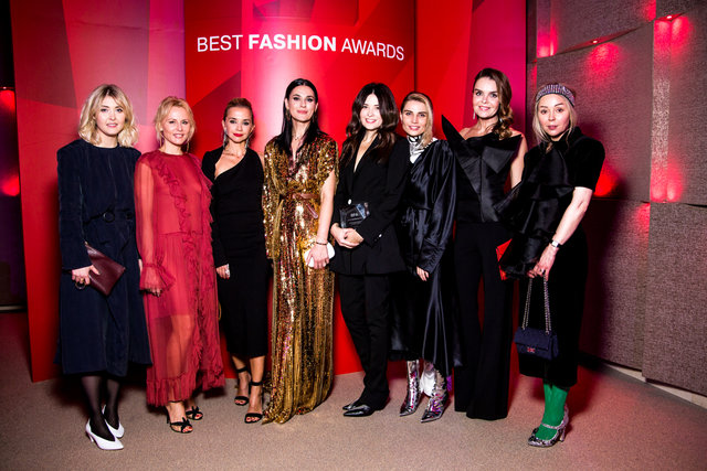 Гості церемонії Best Fashion Awards