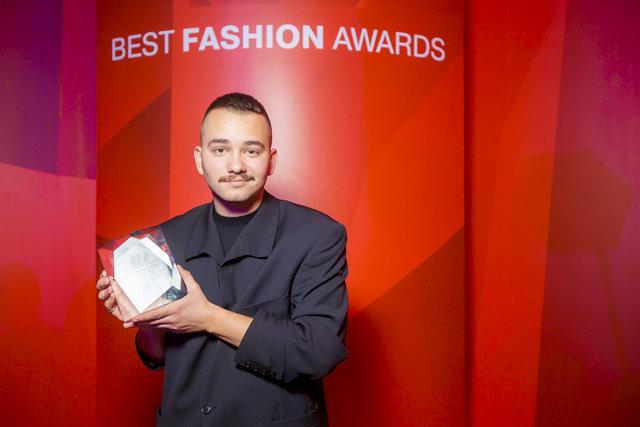 Дизайнер Іван Фролов, переможець в номінації Краща fashion-постановка