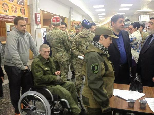 Опубліковано фото: Бойовик «Моторола» з'явився уМоскві укумедному картузі