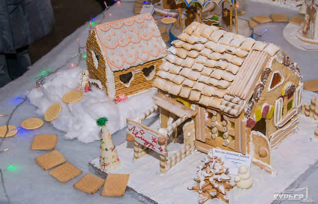 ДевОдесі можна погризти солодкі будиночки зкарамеллю і шоколадом