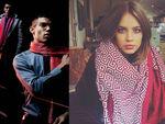 """""""Чарівний"""" шарф робить зірок невидимими для папараці (фото,відео)"""