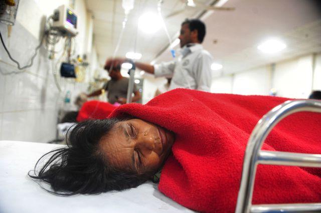 В Індії під час пожежі вклініці загинуло 23 людини
