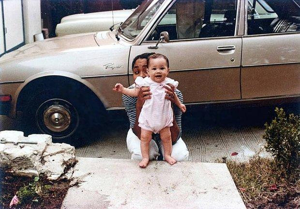 У мережі з'явилися дитячі фото Меган Маркл