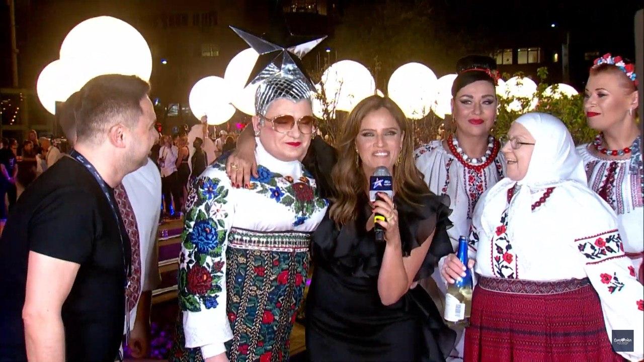 """Вєрка Сердючка ефектно з'явилася на відкритті """"Євробачення 2019"""" в Ізраїлі"""