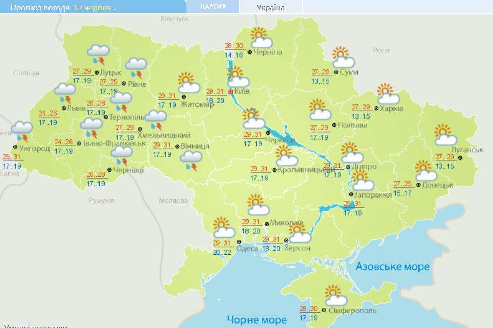 Спека випробовує на міцність: прогноз погоди в Україні на тиждень, фото-4